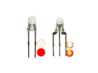 3mm DUO Bi-Color LED