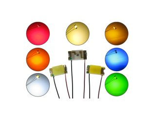 LED SMD mit Kabel & Lackdraht