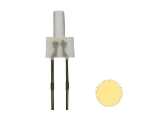 Tower LED lang 2mm warmweiß diffus blinkend 1,8Hz