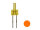 Tower LED lang 2mm orange amber diffus blinkend 1,8Hz