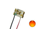 LED SMD 0805 mit Lackdraht orange