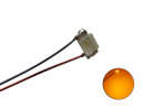 LED SMD 0603 mit Kupferlackdraht orange -...