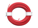 10 Meter Ring Miniaturkabel Litze flexibel LIY 0,14mm² rot