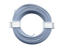 10 Meter Ring Miniaturkabel Litze flexibel LIY 0,14mm² grau